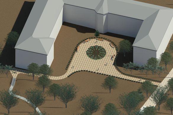 Черкащанам показали, як хочуть реконструювати територію однієї з лікарень міста