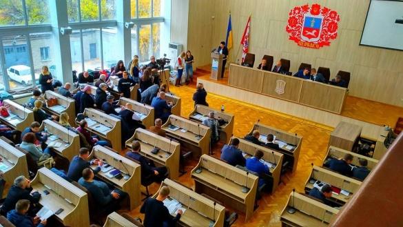 Черкаські депутати вирішили на тиждень взяти перерву