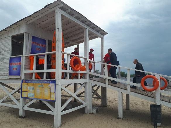 У Черкасах готуються до пляжного сезону