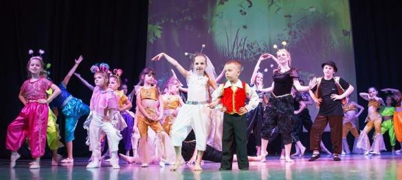 Юні черкаські артисти відтворили в танці відому казку (ФОТО)
