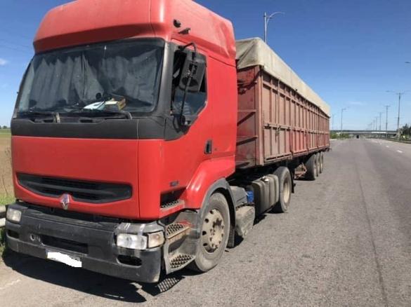 На Черкащині водії вантажівок сплатять штраф за понаднормову вагу