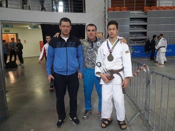 Черкаський спортсмен став чемпіоном Європи з дзюдо