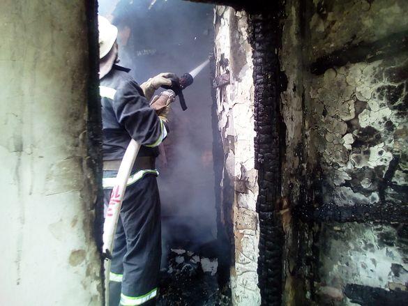 На Черкащині під час пожежі постраждали двоє літніх людей
