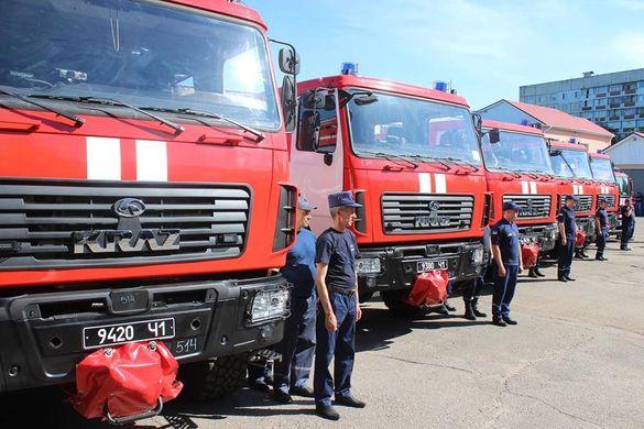 Автопарк черкаських рятувальників поповнився новими автомобілями (ФОТО)