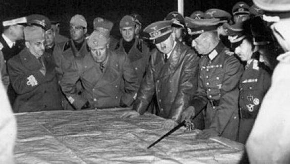 Що робили Гітлер і Муссоліні в Умані