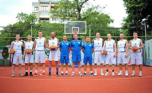 Черкаські баскетболісти в складі збірної України лідирували в турнірі