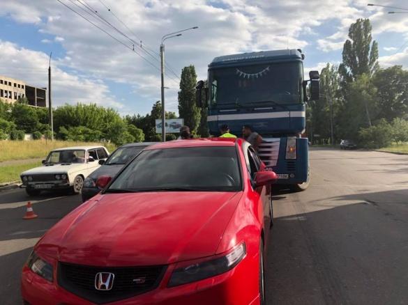 На перехресті Сумгаїтської та Одеської сталася ДТП (ФОТО)