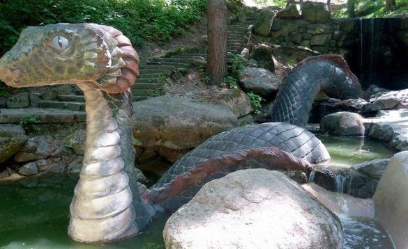 В одному з черкаських парків запрацювали реконструйовані струмки (ФОТО)