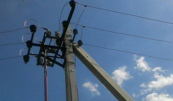 Негода вночі знеструмила 15 населених пунктів Черкащини