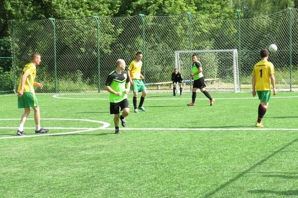 Черкаська поліція охорони позмагалася із кропивницькою у міні-футболі