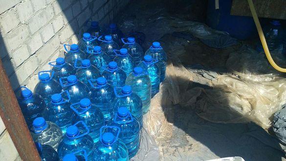 У Черкасах викрили підпільний цех із виробництва алкогольного фальсифікату (ФОТО)