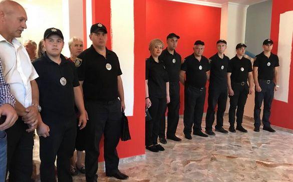В одному з смт на Черкащині з'явилася нова поліцейська станція (ФОТО)