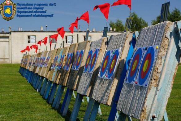 Черкаські лучники увійшли до п'ятірки кращих на чемпіонаті України (ФОТО)