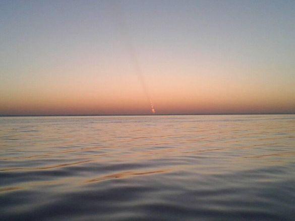 Черкащанин поширив світлину невідомого об'єкта, який схожий на астероїд (ФОТО)