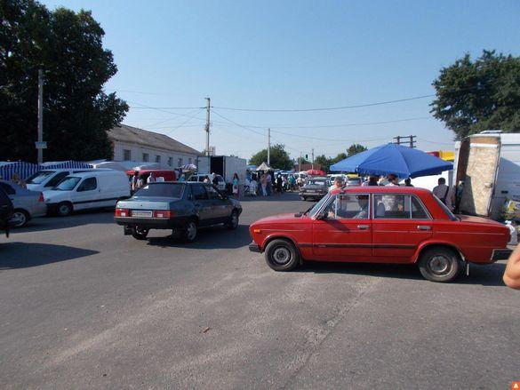 В одному із селищ на Черкащині через базар сталася масштабна ДТП