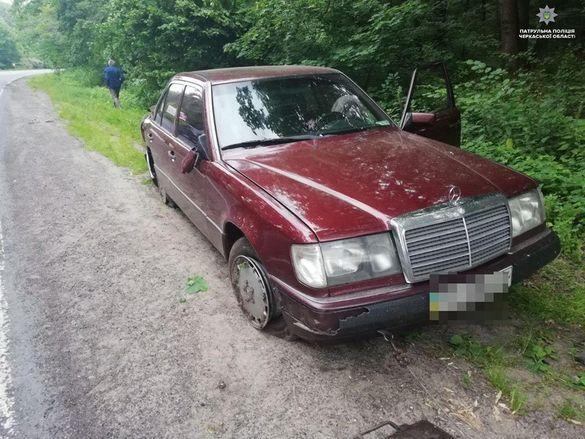 На Черкащині через алкоголь сталася аварія (ФОТО)