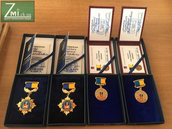 Надзвичайники, які рятували Черкаси у дні без води, отримали нагороди (ФОТО)