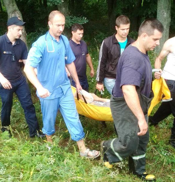 На Черкащині врятували зниклу літню жінку (ФОТО)