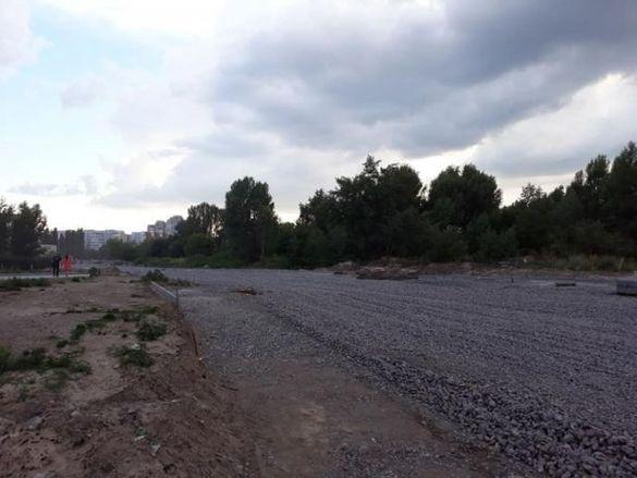 У мережі з'явилися фото ремонту однієї з черкаських вулиць (ФОТО)