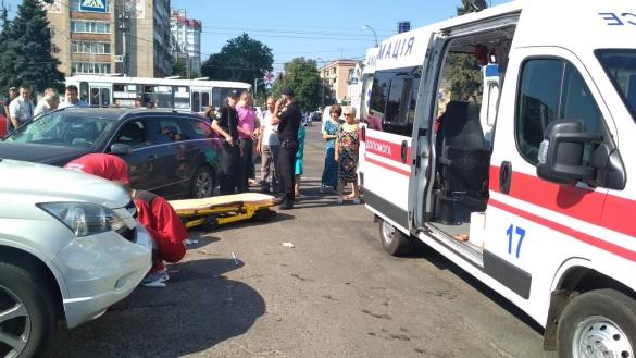 Про стан постраждалого у потрійній ДТП у центрі Черкас та розмову із Лютим