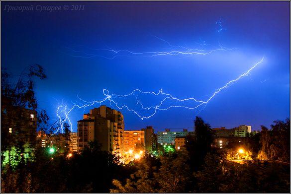 Увага: у Черкасах та області оголосили штормове попередження