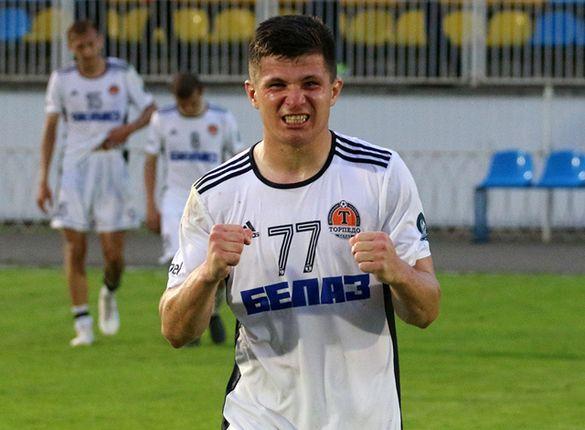 Черкаський футболіст відзначився у чемпіонаті Білорусі (ВІДЕО)