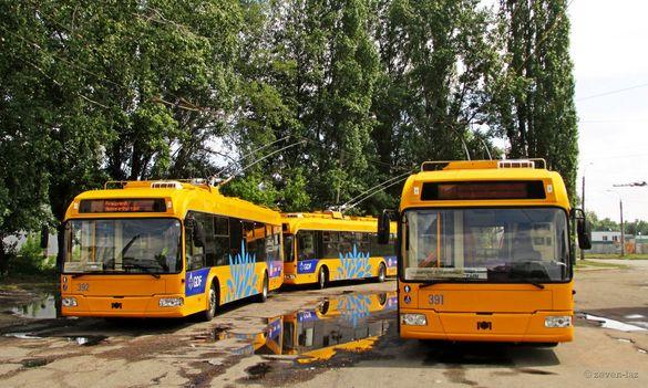 Через ремонт дороги рух черкаського тролейбусу змінено