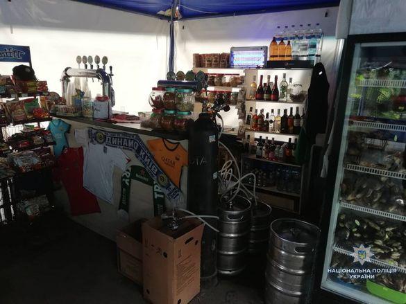 В уманських магазинах продавали алкоголь без документів (ФОТО)