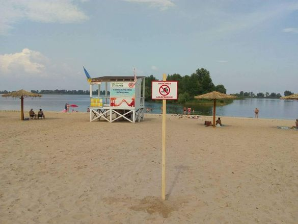 На черкаських пляжах досі заборонено купатися