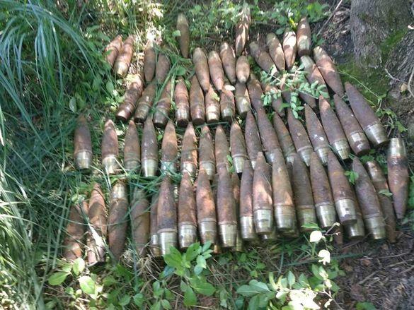 На місці Корсунь-Шевченківської битви знайшли артилерійські снаряди