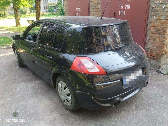 У Черкасах знайшли автівку, яку викрали в одному з сіл (ФОТО)