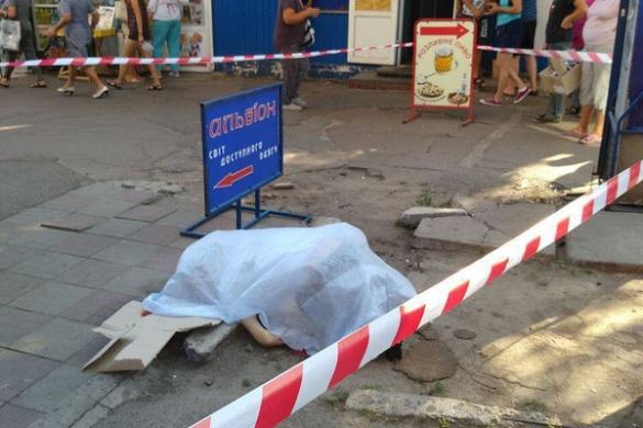 На одній із черкаських вулиць містяни знайшли тіло чоловіка