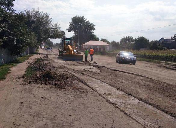 На Черкащині почався ремонт сумнозвісної дороги (ФОТО)
