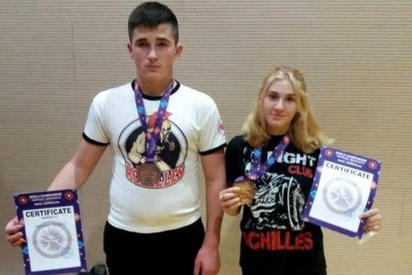 Черкащани вибороли медалі Чемпіонату світу з греплінгу (ВІДЕО)