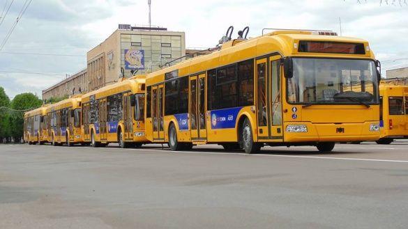 На День міста тролейбуси в Черкасах їздитимуть довше й безкоштовно