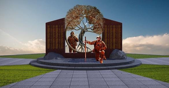 Не зійшлися у баченні: будівництво меморіалу АТОвцям у Черкасах затягується