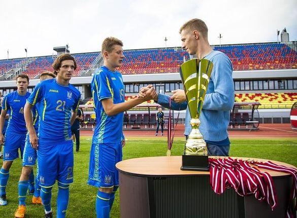 Черкаський футболіст відзначився на міжнародному турнірі у складі збірної України