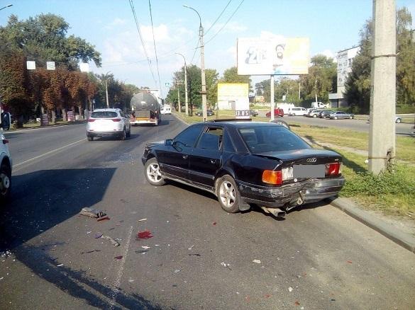Водій напідпитку почав тікати від патрульних, які стали свідками аварії в Черкасах (ФОТО)