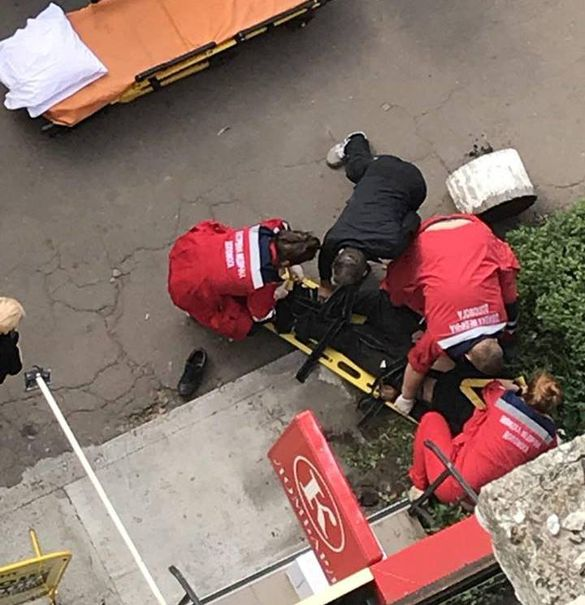 У Черкасах травмувався викрадач кабелю, тікаючи від поліції (ФОТО)