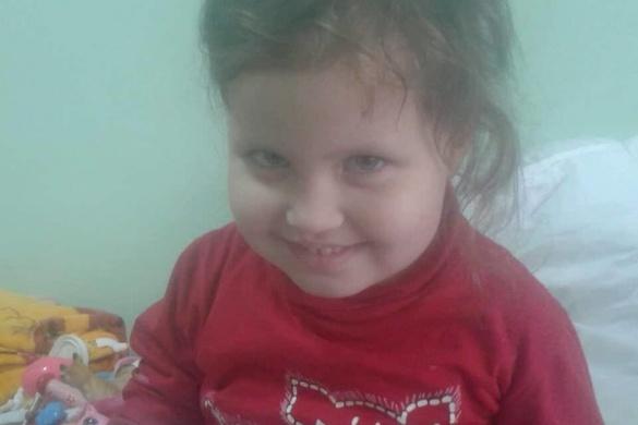 На Черкащині трирічна дівчинка, що захворіла на рак крові,потребуєдопомоги