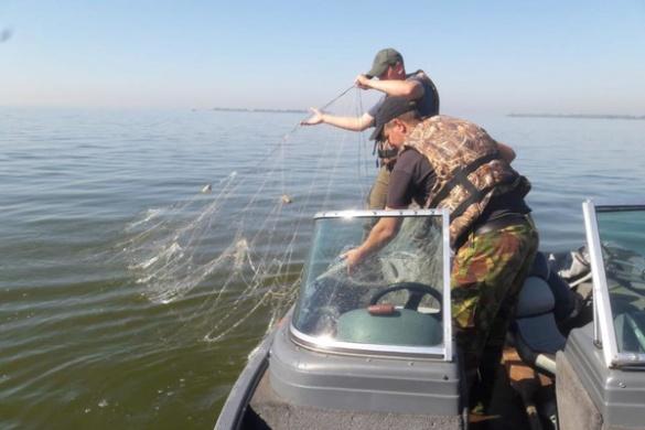 У Черкаській області водний патруль знайшов вилов браконьєрів