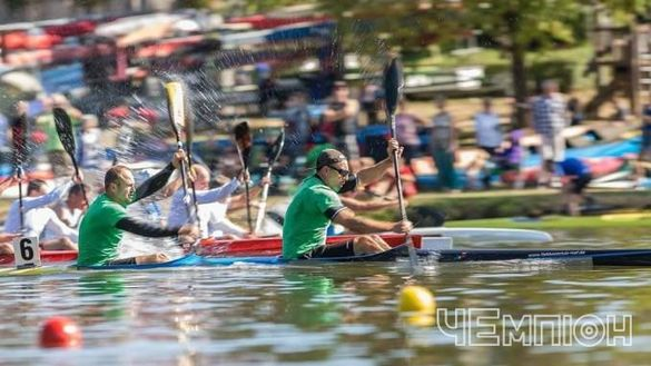 Спортсмени Черкащини підкорили міжнародні змагання з веслування на байдарках і каное