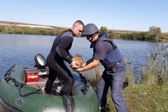 У глибинах водойми на Черкащині виявили понад 60 небезпечних знахідок (ФОТО)