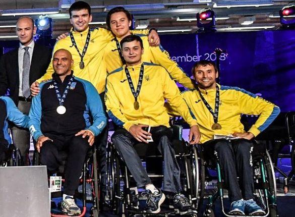 Черкаський спортсмен опинився серед переможців чемпіонату Європи з фехтування на візках