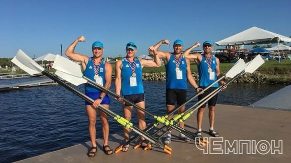 Черкаські веслярі стали найшвидшими на чемпіонаті світу (ФОТО)