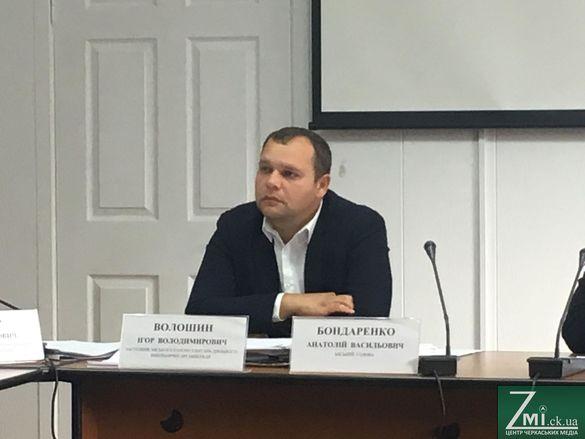 Волошин повернувся на посаду заступника мера