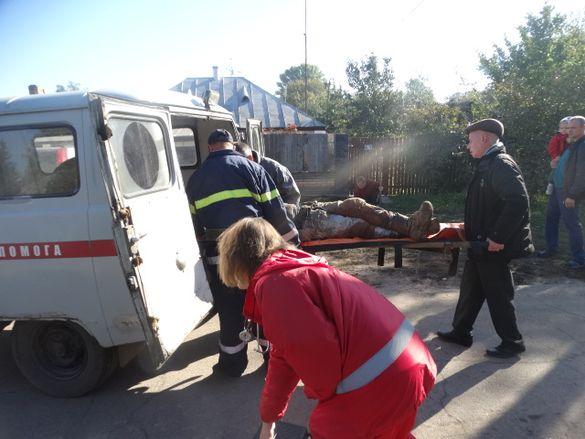 На Черкащині госпіталізували чоловіка, який впав у колодязь (ВІДЕО)