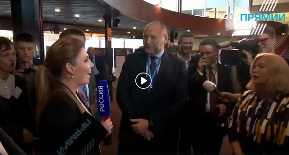 Черкаські нардепи заспівали гімн України перед камерами російського каналу (ВІДЕО)