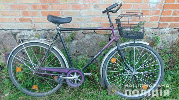 На Черкащині чоловік за добу поцупив три велосипеди
