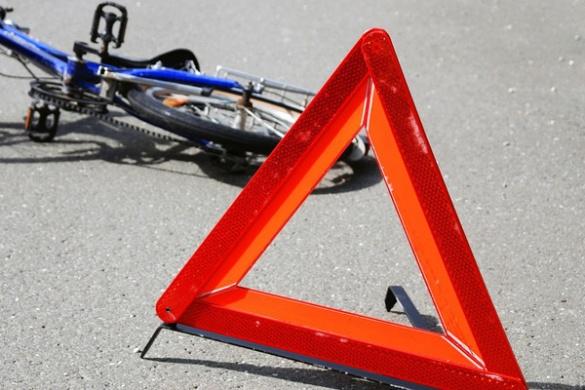 У Черкаській області водій збив дівчинку на велосипеді